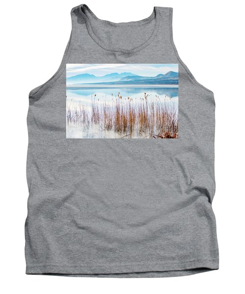 Morning Mist On The Lake Tank Top