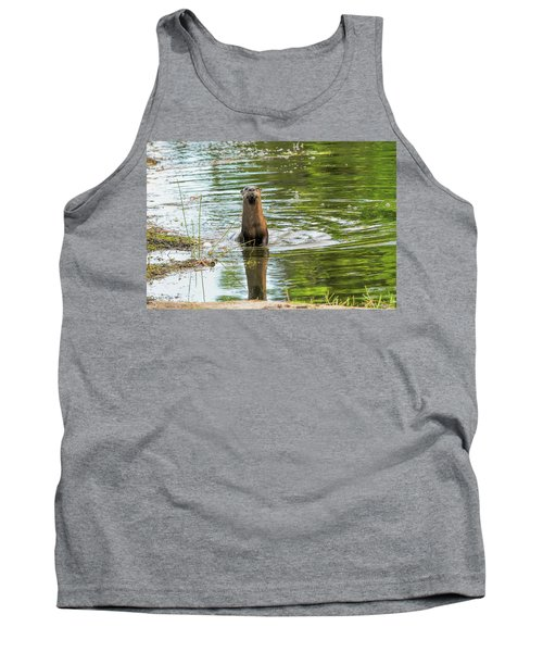 Morning Otter Encounter Tank Top