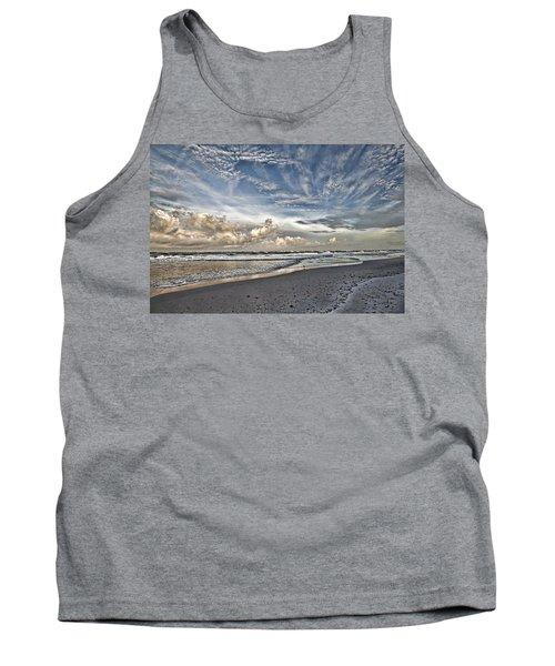 Morning Sky At The Beach Tank Top