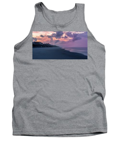 Morning Stroll On The Beach Tank Top