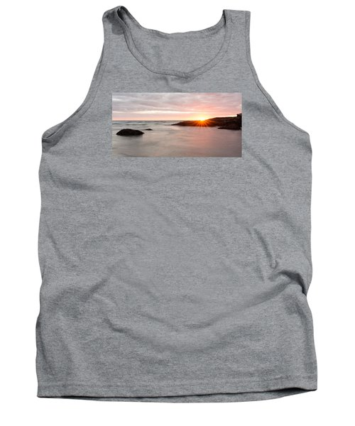 Morning Sun Good Harbor Tank Top by Michael Hubley
