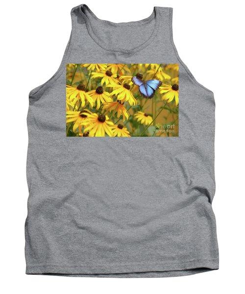 Morpho Butterfly Tank Top