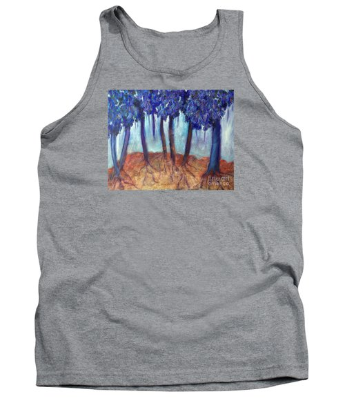 Tank Top featuring the painting Mosaic Daydreams by Elizabeth Fontaine-Barr