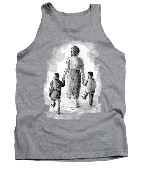 Mother And Kids Tank Top