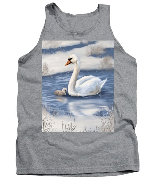 Tank Top featuring the painting Mother Love by Veronica Minozzi