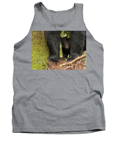 Mothers Day Bear Card Tank Top
