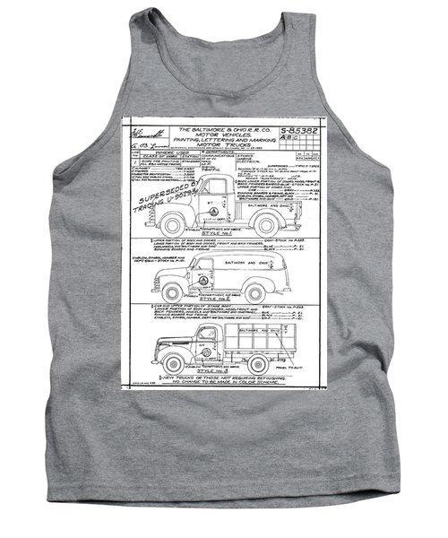 Motor Vehicles Tank Top