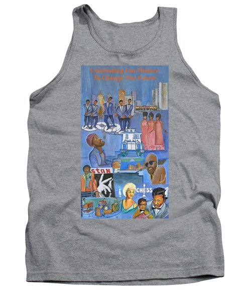 Motown Commemorative 50th Anniversary Tank Top