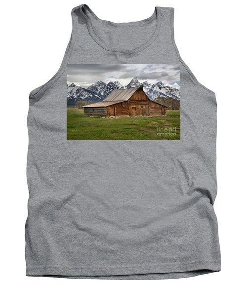 Moulton Barn Spring Storms Tank Top by Adam Jewell