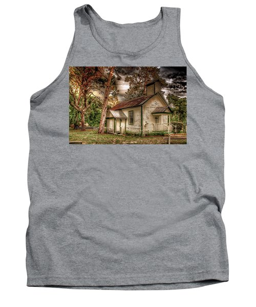 Moultrie Church At Dusk Tank Top