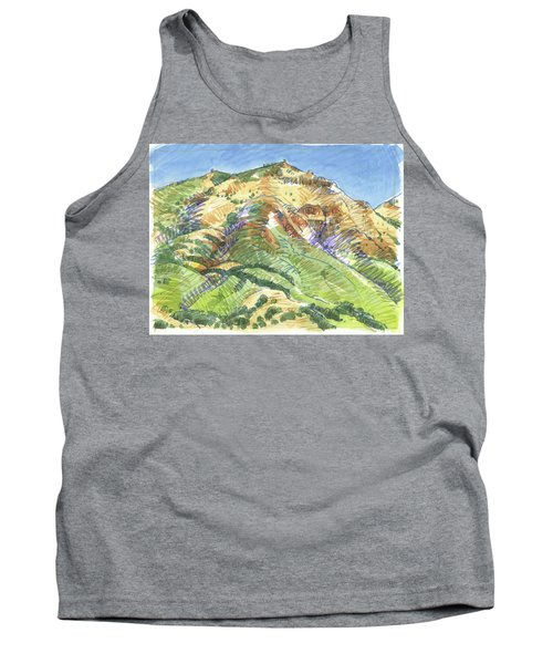 Mount Diablo From Curry Valley Ridge Tank Top