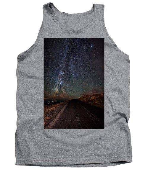 Mount Evans Road To The Milky Way Tank Top