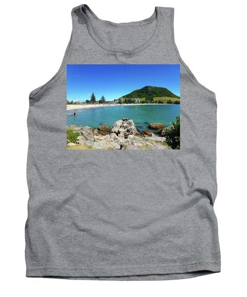 Mount Maunganui Beach 8 - Tauranga New Zealand Tank Top