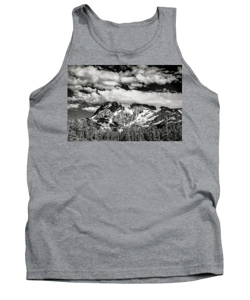 Tank Top featuring the photograph Mount Shuksan Under Clouds by Jon Glaser