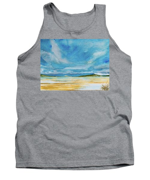 View Of Mount Wellington From South Bruny Island Tank Top