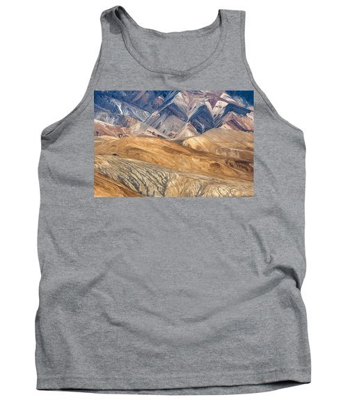 Mountain Abstract 4 Tank Top