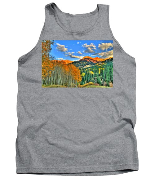 Mountain Beauty Of Fall Tank Top by Scott Mahon