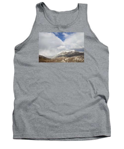 Mountain Clouds And Sun Tank Top by Michele Cornelius