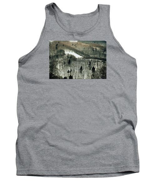 Mountain Forest Tank Top by Vittorio Chiampan
