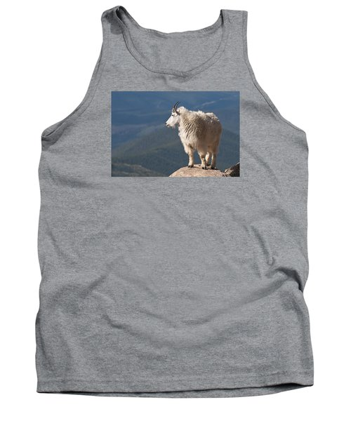 Tank Top featuring the photograph Mountain Goat by Gary Lengyel