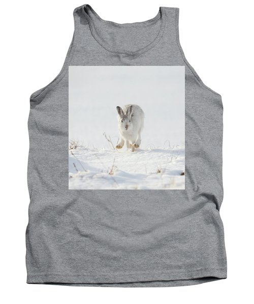 Mountain Hare Approaching Tank Top