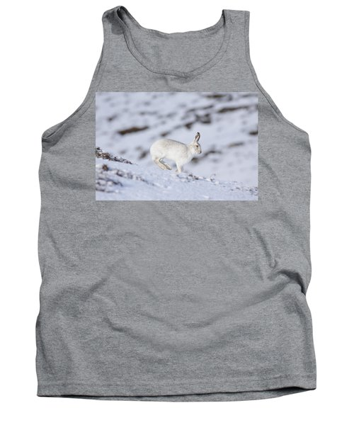 Mountain Hare - Scottish Highlands  #12 Tank Top