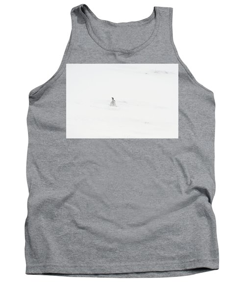 Mountain Hare Small In Frame Left Tank Top