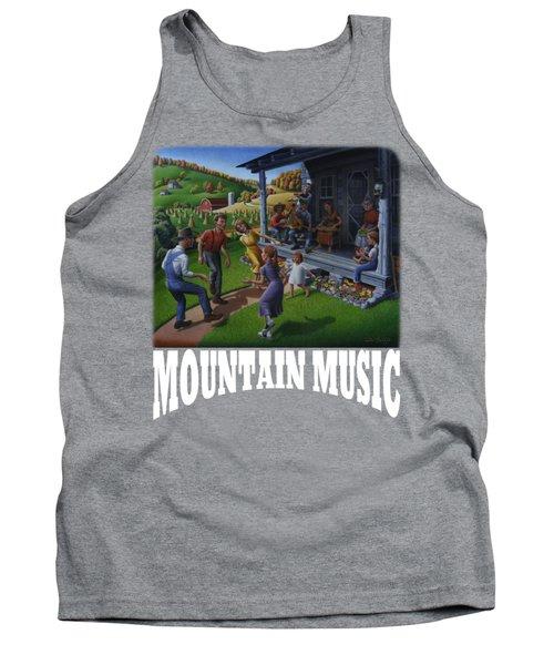 Mountain Music T Shirt 2 Tank Top