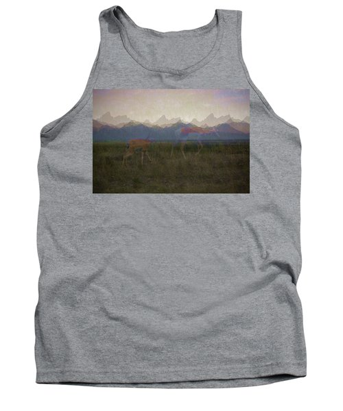 Mountain Pronghorns Tank Top