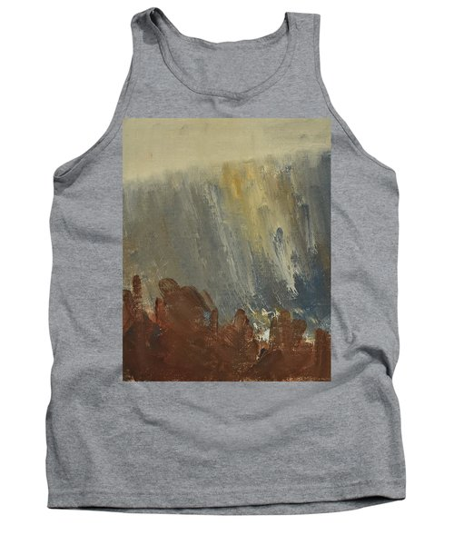 Mountain Side In Autumn Mist. Up To 90x120 Cm Tank Top