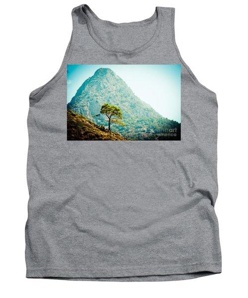 Mountain With Pine Artmif.lv Tank Top