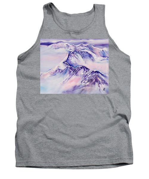 Mountains Above The Clouds No. 2 Tank Top