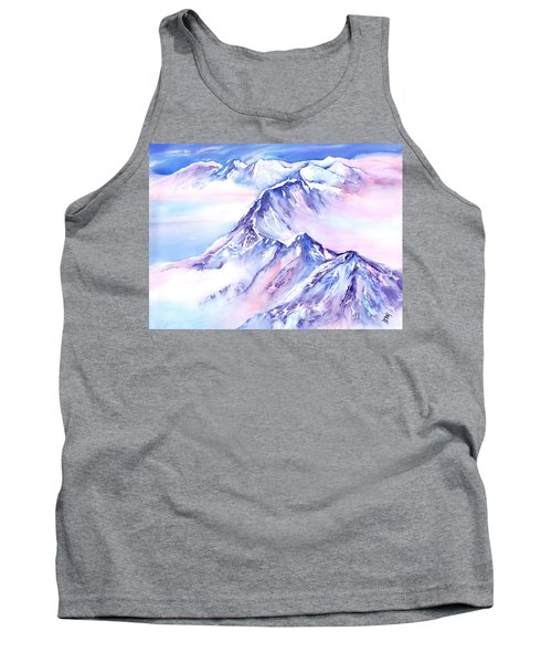 Mountains - Above The Clouds No. 1 Tank Top