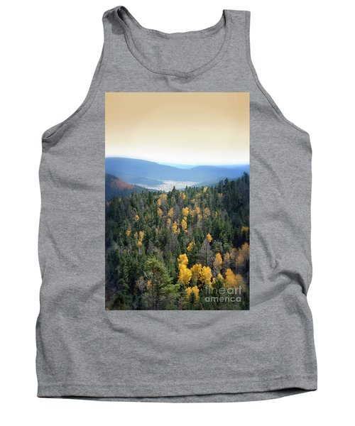 Mountains And Valley Tank Top by Jill Battaglia