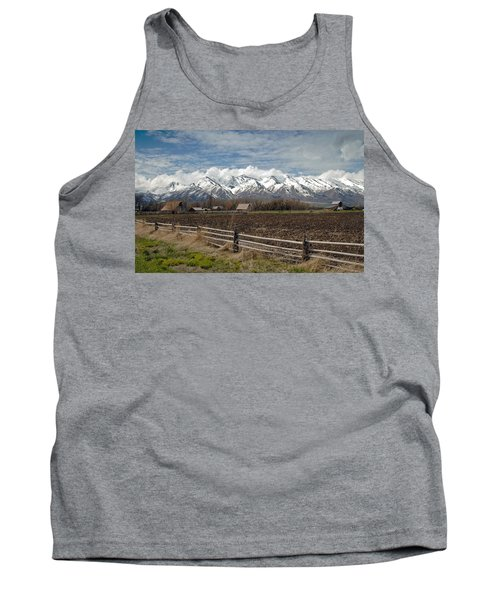 Mountains In Logan Utah Tank Top