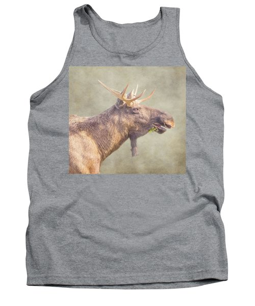 Tank Top featuring the photograph Mr Moose by Roy McPeak