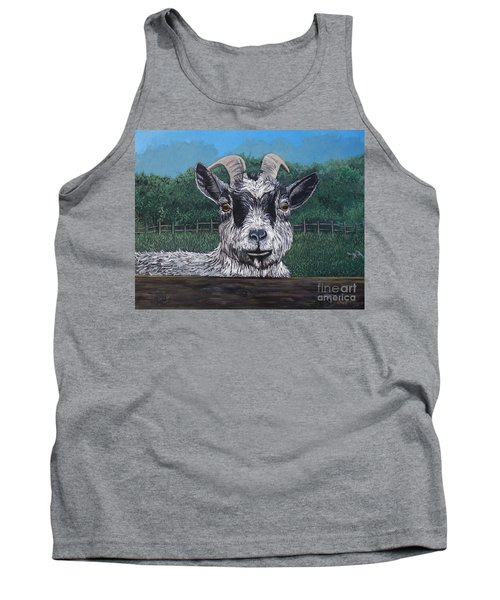 Ms Frisky  Tank Top by Reb Frost