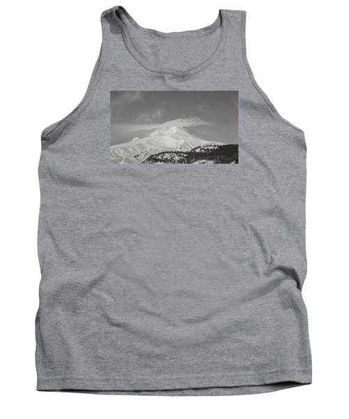 Mt Hood From White River Tank Top