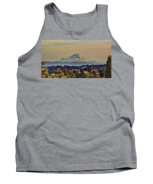 Mt Rainer Fall Color Rising Tank Top