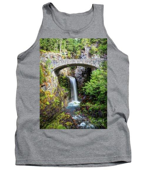 Mt Rainier National Park, Christine Falls Tank Top