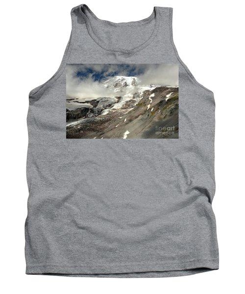 Mt. Rainier Summit Through The Clouds Tank Top