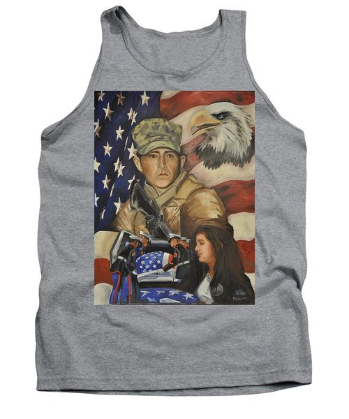 Much Too Young Tank Top by Ken Pridgeon