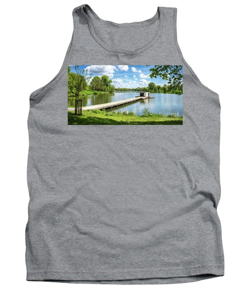 Muenster Aasee Panoramic View Tank Top