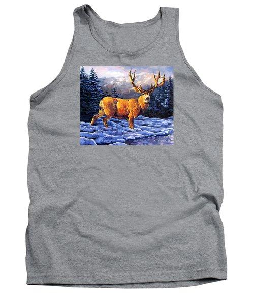 Mule Deer 2 Tank Top by Tim Gilliland