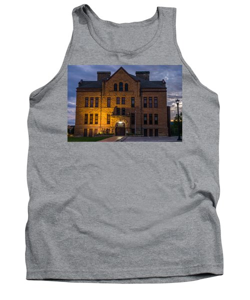 Tank Top featuring the photograph Museum by Jerry Cahill