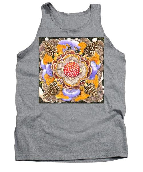 Mushroom Mandala Tank Top