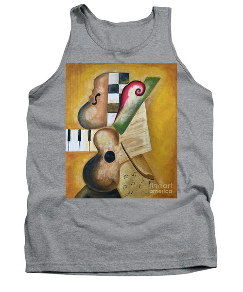 Music Abstract  Tank Top