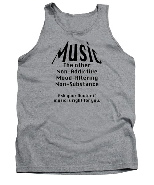 Music Is Right For You 5502.02 Tank Top