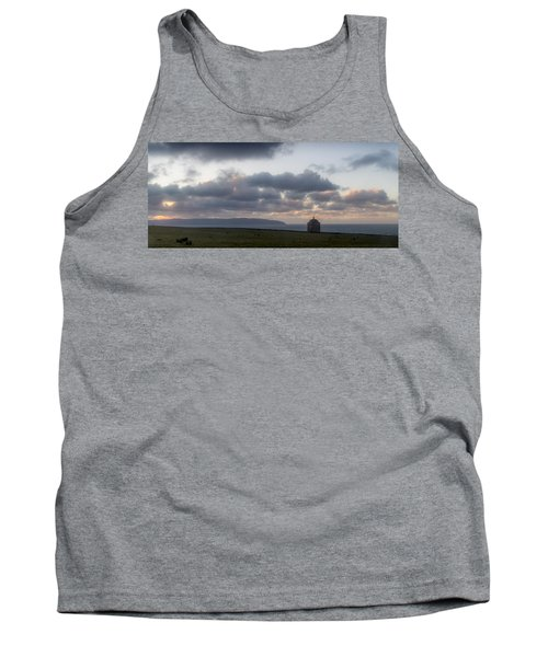 Musseden Temple Sunset Tank Top