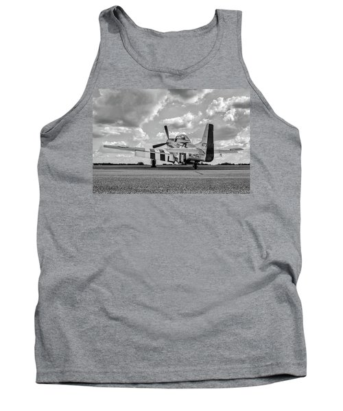 Mustang On The Ramp Tank Top
